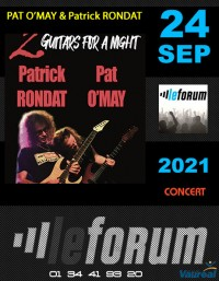Concert: Pat O'May et Patrick Rondat