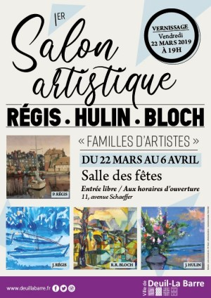 EXPOSITION -  1er salon « Familles d'artistes »