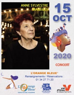 Concert : ANNE SYLVESTRE MANÈGES