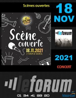 Concert : Scènes ouvertes de la Ruche